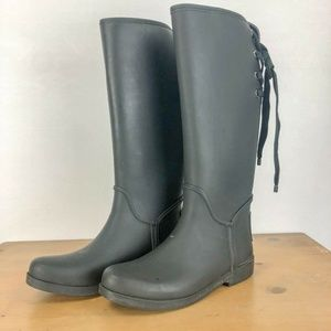 Coach 'Tristee' Waterproof Rain Boot 9B